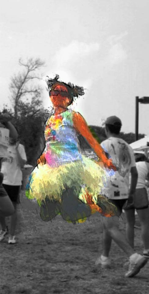 My color run self!